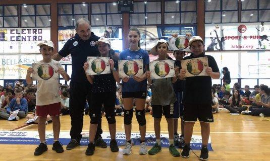 Grande Partecipazione e tanto entusiasmo nella  13° edizione di  1,2,3, VOLLEY (Progetto Scuola & Volley)