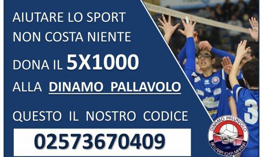 5x1000 - Aiuta lo sport!!
