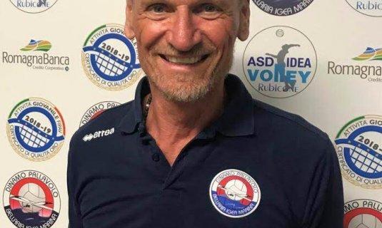 Luigi Pedrelli è un nuovo allenatore della Dinamo Pallavolo Bellaria!!!