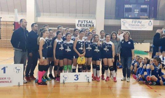 Medaglia di bronzo per le ragazze di Zanotti nel campionato U13!!