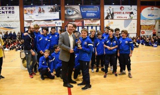 Due podi per la Dinamo Pallavolo Bellaria al torneo dell´happyfania!