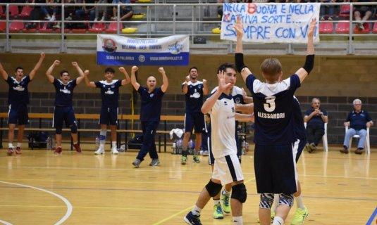La Romagnabanca si aggiudica la gara d´andata delle semifinali!