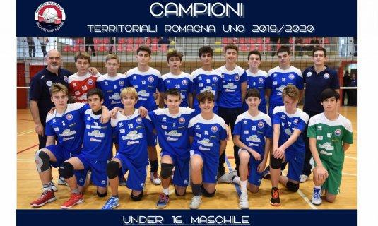 E' la Dinamo Bellaria il campione territoriale Under 16M 2019/2020.