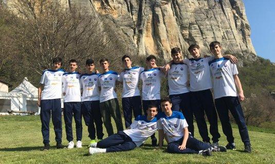 Il settore maschile della Dinamo pronto per Castelnovo ne' Monti!