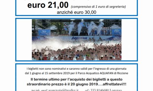 Parco Aquafan di Riccione, promozione esclusiva!!!