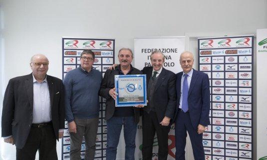 A Bologna la cerimonia di consegna dei certificati di qualità.
