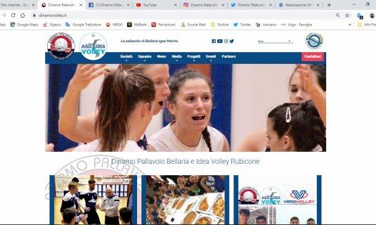 La Dinamo presenta il nuovo sito internet