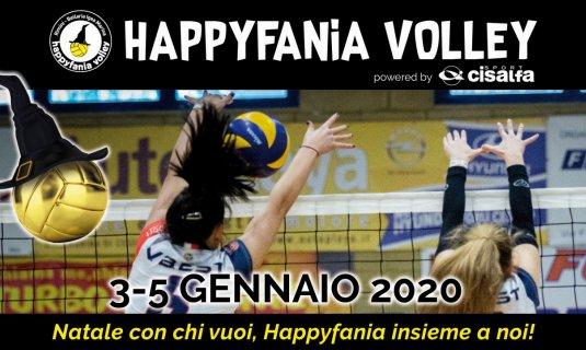 Happyfania Volley ecco i numeri ufficiali.