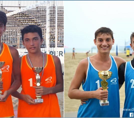 Beach Volley, la Dinamo pallavolo si laurea campione regionale U16M e U19M!