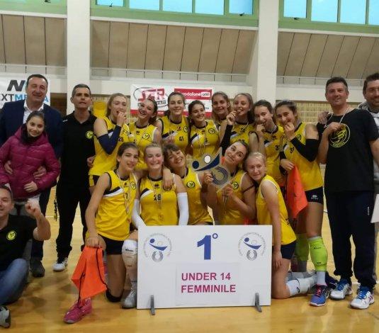 Il Bvolley U14F campione territoriale 2018/2019!!