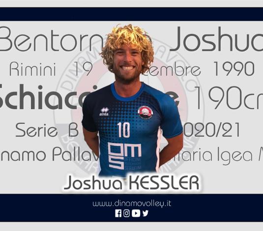 Joshua Kessler è l'ultimo acquisto della Dinamo Pallavolo Bellaria.
