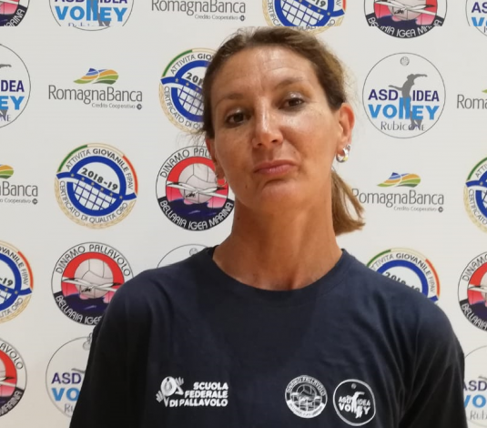 Morena Boschetti nello staff tecnico dell'Idea Volley!!