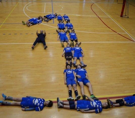 La Dinamo Bellaria Blu si laurea campione provinciale con due giornate di anticipo!!!
