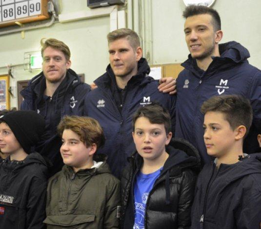 Pausa natalizia per i giovanissimi ragazzi della Dinamo!!!