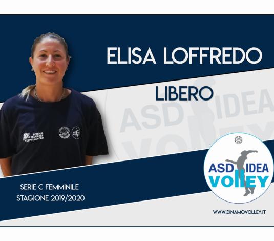 Elisa Loffredo sarà il libero della Gut Chemical Bellaria!!