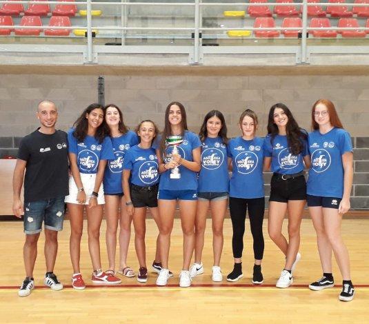 L'under 16 dell'Idea Volley primeggia al torneo ANSPI!!