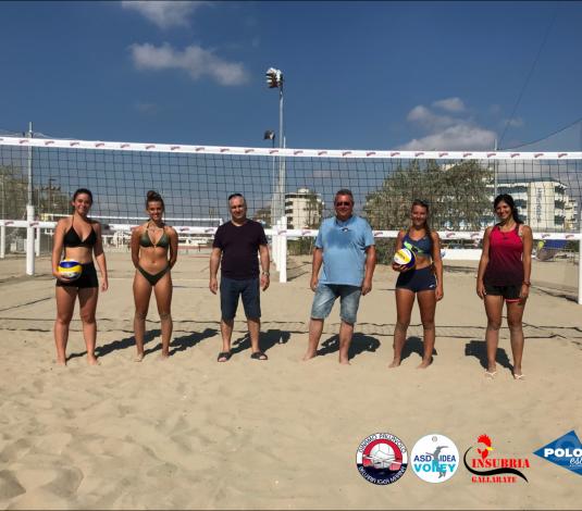 Inaugurata la Beach Arena del Polo Est. Parte il gemellaggio tra Insubria Gallarate ed Idea Volley Bellaria.