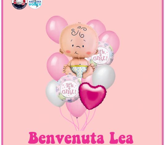 Fiocco rosa in casa Dinamo, è nata Lea Reali.
