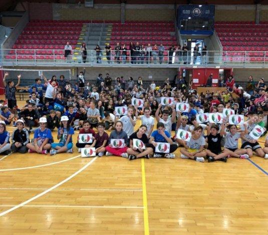 Progetto 1,2,3 ... Volley, entusiasmo e grande partecipazione per l'edizione 2018!!!