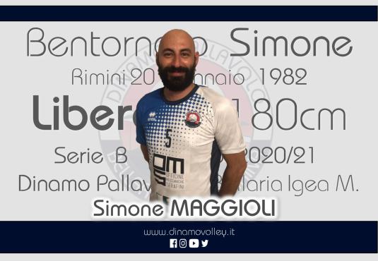 Simone Maggioli difenderà la seconda linea della RomagnaBanca