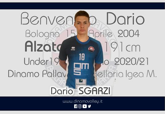 Dario Sgarzi sarà il nuovo registra dell'Under19