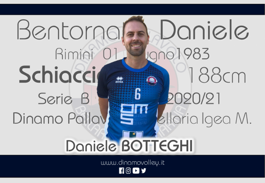 Daniele Botteghi chiude il Roster della RomagnaBanca Bellaria.