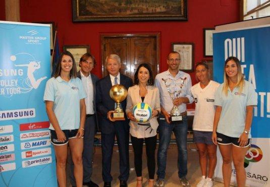 I neo acquisti Rink e Boccioletti al Samsung Lega Volley Summer Tour!
