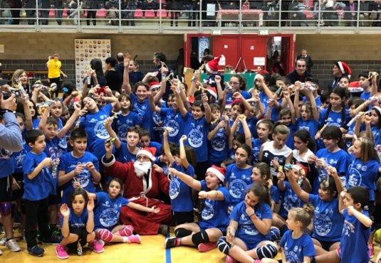 Festa di Natale, un pomeriggio di sport e amicizia in casa Dinamo!
