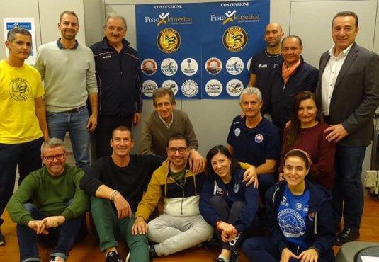 Fisiokinetica. Presentata la convenzione con il BVOLLEY Romagna.