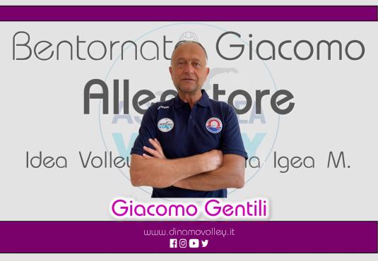 Un gradito ritorno in casa Idea Volley: Giacomo Gentili!