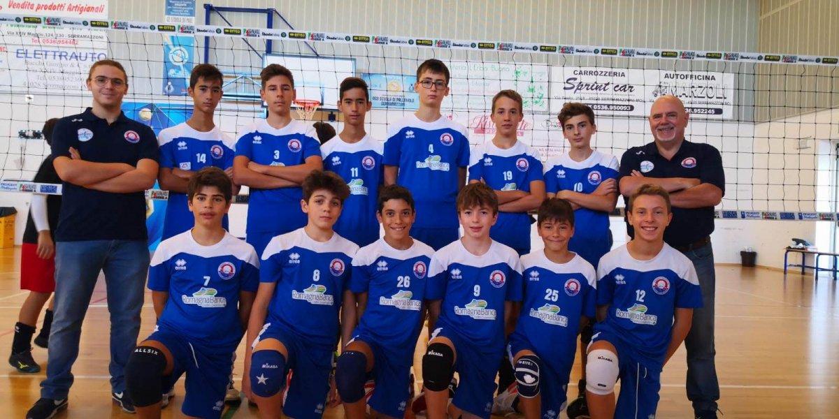 Buona prestazione dei ragazzi U14 alla Serra Cup di Modena.