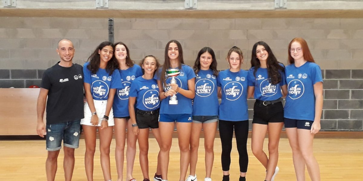 ​L'under 16 dell'Idea Volley primeggia al torneo ANSPI!!